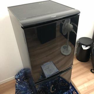シャープ(SHARP)の冷蔵庫 ブラック(冷蔵庫)