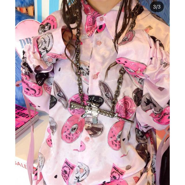 MILKBOY(ミルクボーイ)のMILK BOY COMPACT DISC SHIRT  メンズのトップス(シャツ)の商品写真