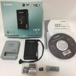 Canon - ixy1 Wi-Fi、タッチパネル機能、マイクロSDカード付