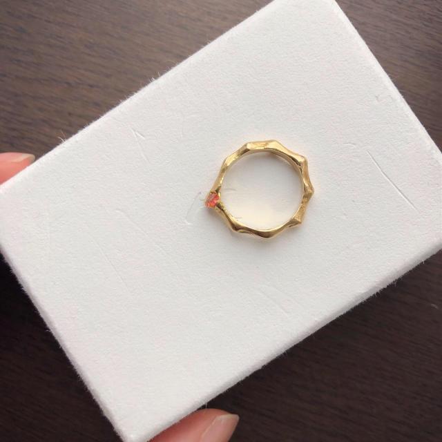 Maison Martin Margiela(マルタンマルジェラ)のpluie 18k カスタムリング  レディースのアクセサリー(リング(指輪))の商品写真