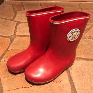 ファミリア(familiar)のファミリア レインブーツ 16(長靴/レインシューズ)