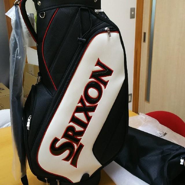 Srixon(スリクソン)の再 値下げしました。スリクソン キャディーバック新品 スポーツ/アウトドアのゴルフ(バッグ)の商品写真