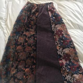 ロングスカート ビンテージ vintage(ロングスカート)