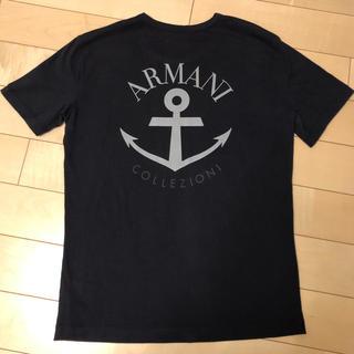 アルマーニ コレツィオーニ(ARMANI COLLEZIONI)のARMANI COLEZIONI☆Tシャツ☆メンズ☆(Tシャツ/カットソー(半袖/袖なし))
