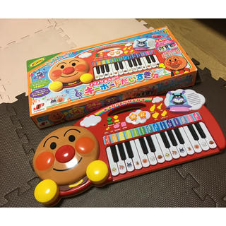 アンパンマンキーボード(楽器のおもちゃ)