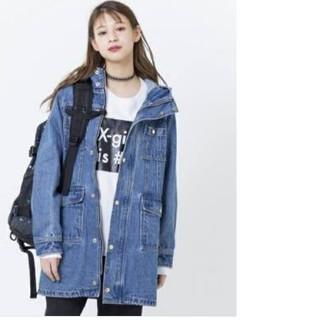エックスガール(X-girl)のエックスガール デニム ブルゾン コート (ブルゾン)