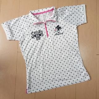キスマーク(kissmark)のキスマーク レディース半袖ポロシャツ&キャロウェイ サンバイザー(ウエア)