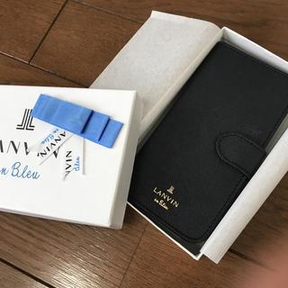 ランバンオンブルー(LANVIN en Bleu)のLanvin en Bleu スマートフォンケース(iPhoneケース)