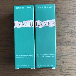 ドゥラメール(DE LA MER)のドゥ・ラ・ メール セラム サンプルセット 新品 (美容液)