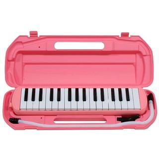 ★新品★鍵盤ハーモニカ 32鍵 ピンク PINK(ピアノ)