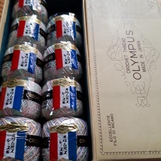 オリンパス(OLYMPUS)のオリムパスレース糸 10g No.40(生地/糸)