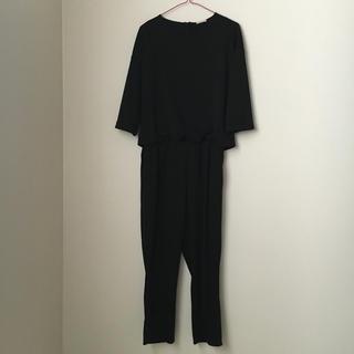 ジーユー(GU)のオールインワン  ♡GU♡ブラック  7分袖(オールインワン)