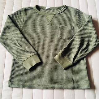 ジーユー(GU)のKIDS♡ロングTシャツ(Tシャツ/カットソー)