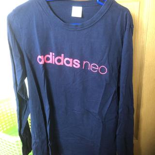 アディダス(adidas)の✨adidas ロンT😊LLサイズ👍(Tシャツ(長袖/七分))