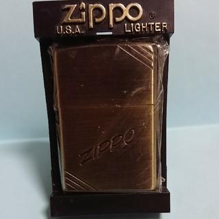 ジッポー(ZIPPO)のジッポ 真鍮(タバコグッズ)