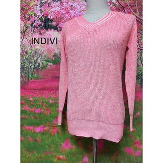 インディヴィ(INDIVI)のINDIVI ニットトップス I-3(ニット/セーター)