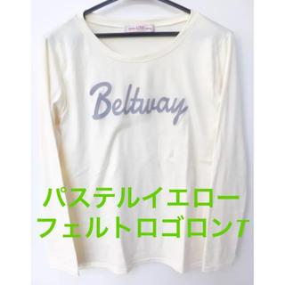 アンナケリー(Anna Kerry)のAnna Kerry フェルト ロゴロンT(Tシャツ(長袖/七分))