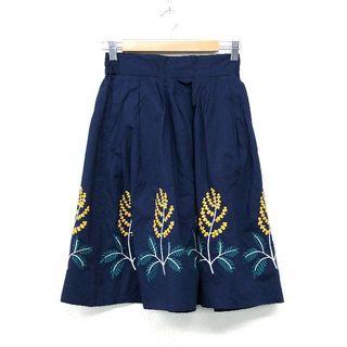 グラニフ(Graniph)のGranigh グラニフ コットン 刺繍 スカート サイズ F(ロングスカート)