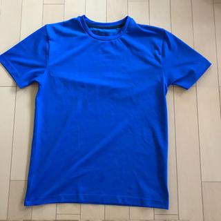 ジーユー(GU)のスポーツTシャツ ブルーTシャツ GUスポーツ(ウェア)