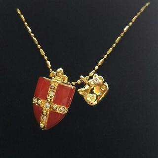 サンリオ(サンリオ)のハローキティのネックレス(ゴールド×赤)(ネックレス)