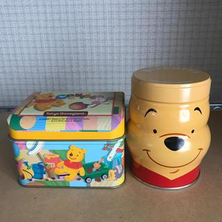 ディズニー(Disney)のくまのぷーさん 空き缶(その他)