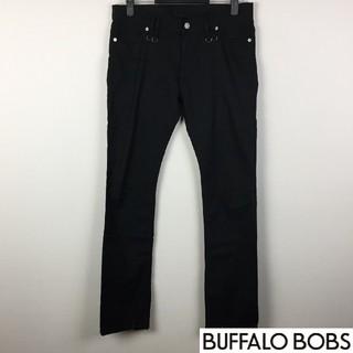 バッファローボブス(BUFFALO BOBS)の美品 バッファローボブズ パンツ ブラック サイズ2(デニム/ジーンズ)