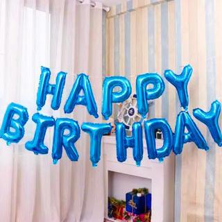 【誕生日用】飾り付け✨バルーン ブルー 風船(ウェルカムボード)