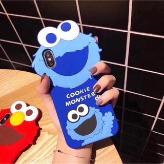 セサミストリート(SESAME STREET)の新作 クッキーモンスター(セサミストリート) シリコン カバーケース(iPhoneケース)