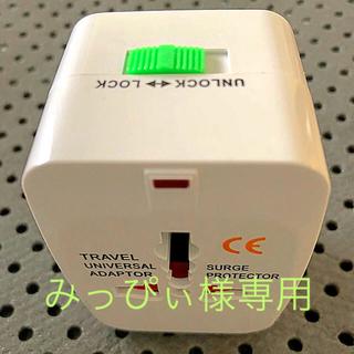 世界対応マルチプラグ ✈︎海外旅行の必需品(変圧器/アダプター)