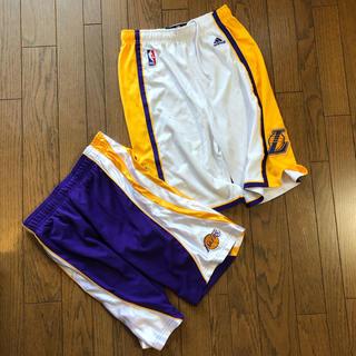 アディダス(adidas)のバスケットパンツ バスパン NBAサイズLとアディダスサイズXL(バスケットボール)