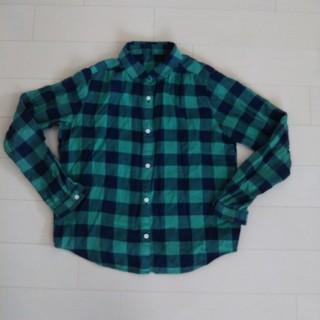ユニクロ(UNIQLO)のユニクロチェックシャツ 150(ブラウス)