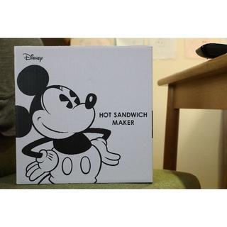 ディズニー(Disney)の【新品未使用】ディズニーのホットサンドメーカー  ミッキーマウス(サンドメーカー)