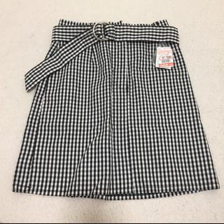 シマムラ(しまむら)のしまむら 台形スカート スカート ギンガムチェック(ミニスカート)