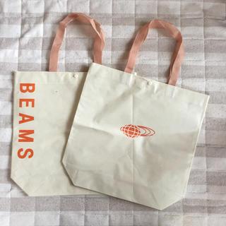 ビームス(BEAMS)のBEAMS ショップバッグ 2枚セット(ショップ袋)