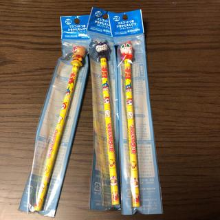 アンパンマン 2B えんぴつ3本セット(鉛筆)