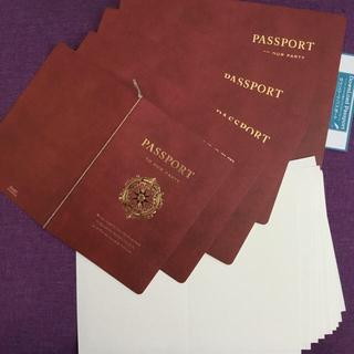 ディズニー(Disney)のピアリー ライフイズジャーニー 招待状 封筒 中紙 飾り紙(その他)
