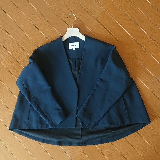 ENFOLD(エンフォルド)のENFOLD ノーカラージャケット レディースのジャケット/アウター(ノーカラージャケット)の商品写真