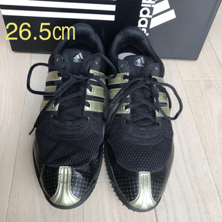 アディダス(adidas)のadidas ゴルフシューズ 26.5㎝(シューズ)