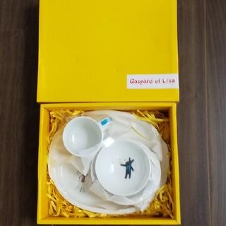 ニッコー(NIKKO)の【新品未使用品】リサとガスパール 子ども食器4点セット(食器)