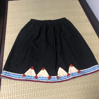 スナオクワハラ(sunaokuwahara)のSUNAOKUWAHARA スカート(ひざ丈スカート)