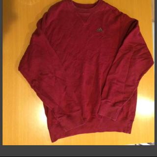 アディダス(adidas)の古着  アディダス   トレーナー(Tシャツ/カットソー(七分/長袖))