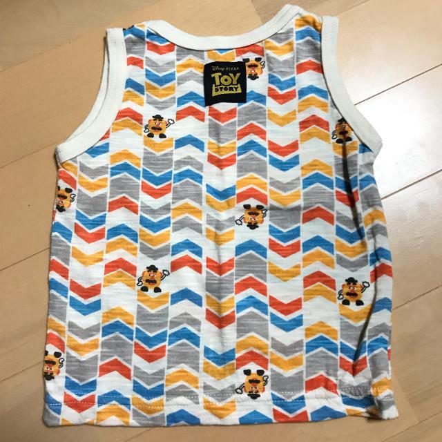 Disney(ディズニー)のトイストーリータンクトップ キッズ/ベビー/マタニティのベビー服(~85cm)(タンクトップ/キャミソール)の商品写真