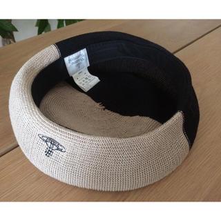 ヴィヴィアンウエストウッド(Vivienne Westwood)のいたち様専用VivienneWestwoodバイカラーベレー帽銀座三越購入未使用(ハンチング/ベレー帽)
