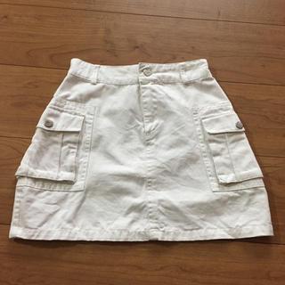 イング(INGNI)のイング 白スカート 140 ホワイト(スカート)