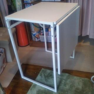 イケア(IKEA)のIKEA 1~2人用テーブル MUDDUS (折たたみテーブル)