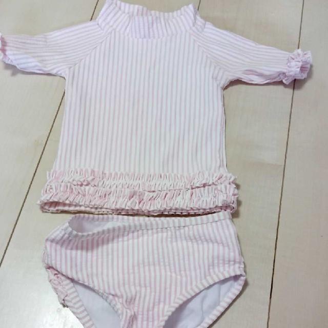 子供用水着12-18m キッズ/ベビー/マタニティのベビー服(~85cm)(水着)の商品写真