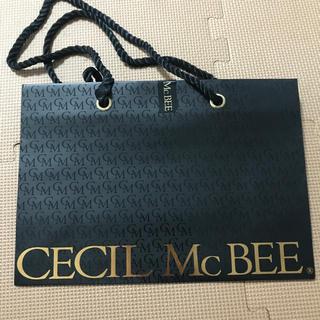 セシルマクビー(CECIL McBEE)のセシルマクビー 紙袋 ショップ袋(ショップ袋)
