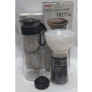 ハリオ(HARIO)の未使用訳あり ハリオ アイスコーヒーメーカーとリーフティポット(テーブル用品)