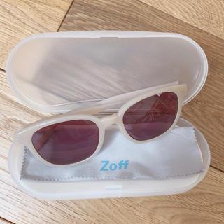 ゾフ(Zoff)のZoff(ゾフ) サングラス ベージュ ケース付き(サングラス/メガネ)
