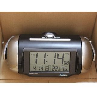 セイコー(SEIKO)のスーパーライデン電波時計(置時計)